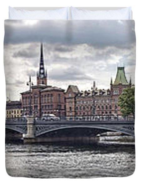 Stockholm Duvet Cover by Mauro Celotti
