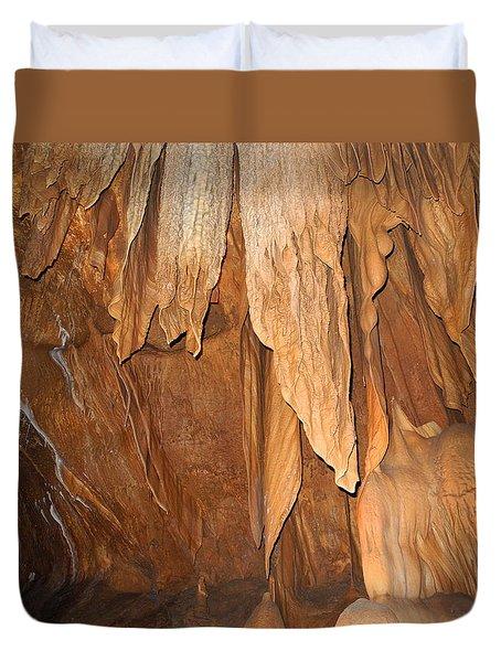 Stone Fold Elegance Duvet Cover