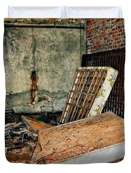 Stonehaven Rehab Duvet Cover by Steve Harrington