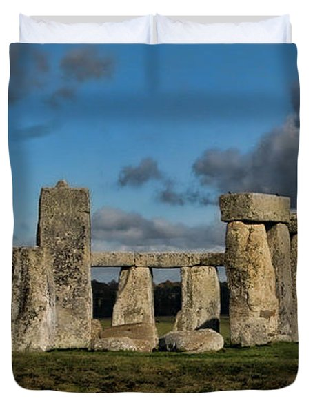 Stonehenge Duvet Cover by Heather Applegate