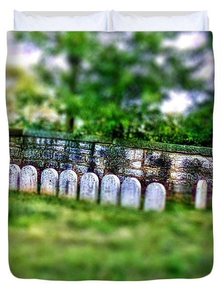 Stones River Battlefield Duvet Cover by EricaMaxine  Price