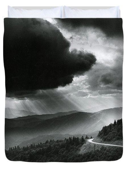 Storm Cloud Duvet Cover by Bruce Roberts and Photo Researchers