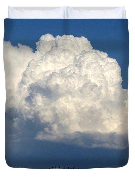 Storm's A Brewin' Duvet Cover