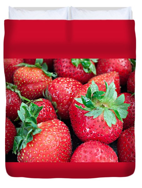 Strawberry Delight Duvet Cover