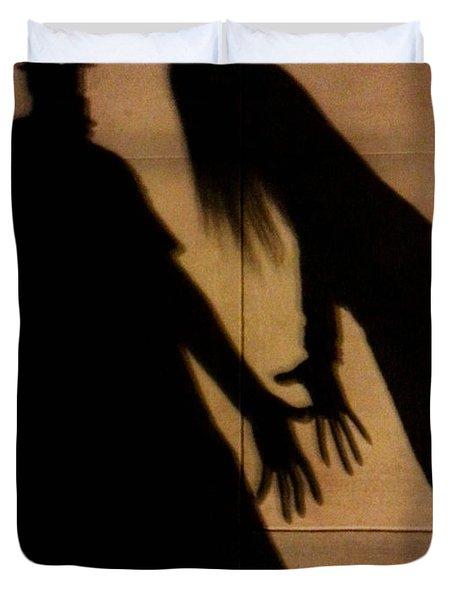 Street Shadows 006 Duvet Cover