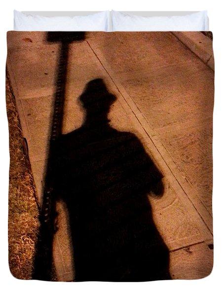 Street Shadows 008 Duvet Cover