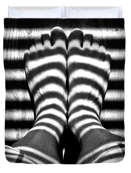 Stripe Socks? Duvet Cover