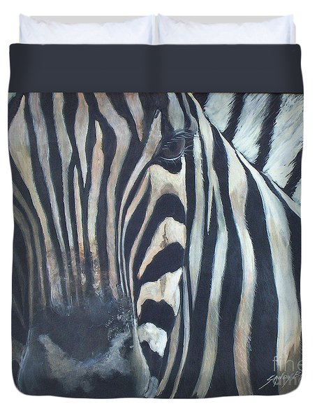 Stripes...sold  Duvet Cover