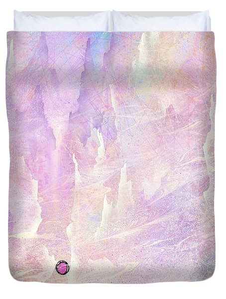 Stuck In A Moment Of Time Duvet Cover by Rachel Christine Nowicki