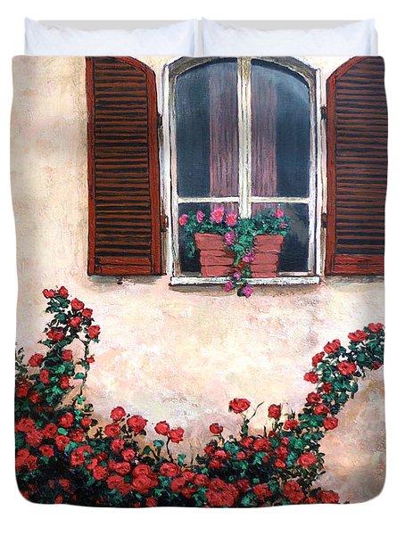 Studio Window Duvet Cover