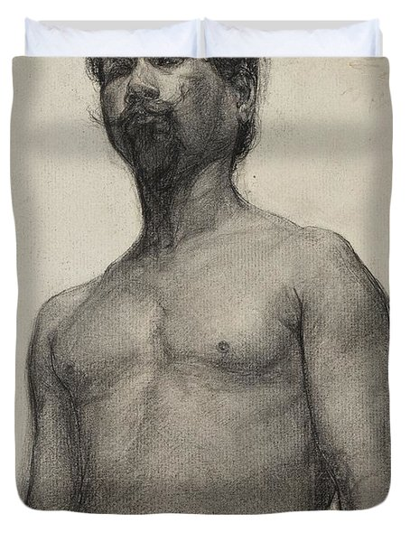 Study Of A Negro Man Duvet Cover by Henry Ossawa Tanner