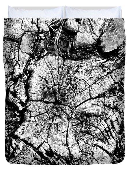 Stumped Duvet Cover by Mike McGlothlen