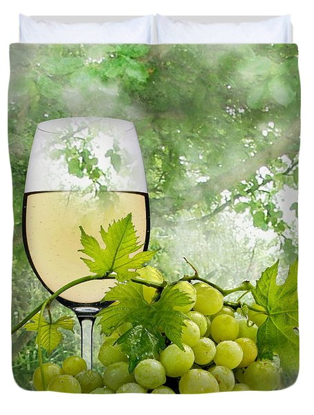 Summer Evening Duvet Cover by Manfred Lutzius