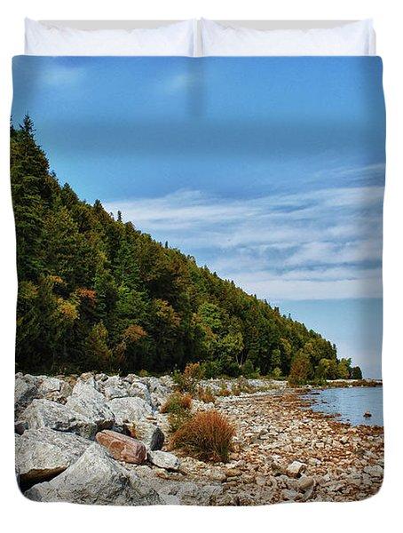 Duvet Cover featuring the photograph Summer Memories by Rachel Cohen