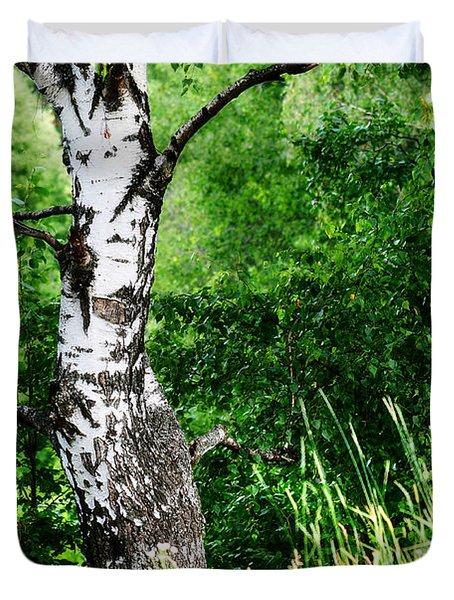 Summer Memory Duvet Cover by Jenny Rainbow