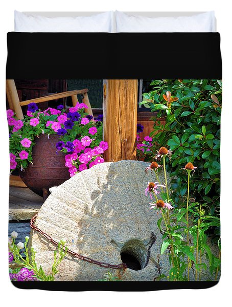Summer Millstone Duvet Cover by Jan Amiss Photography