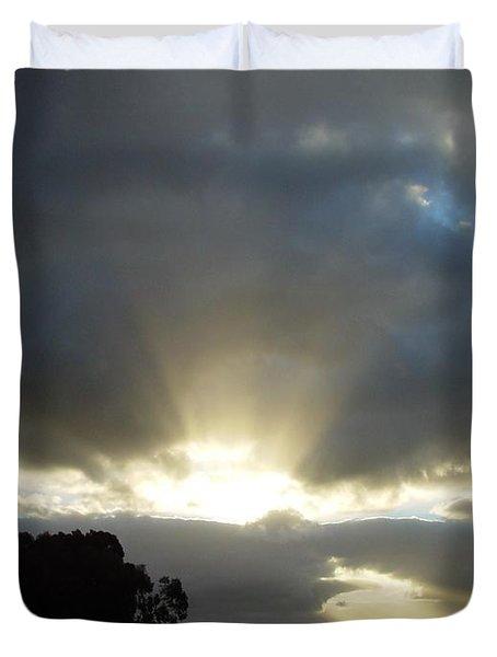 Sun Beams Duvet Cover by Paul Van Scott