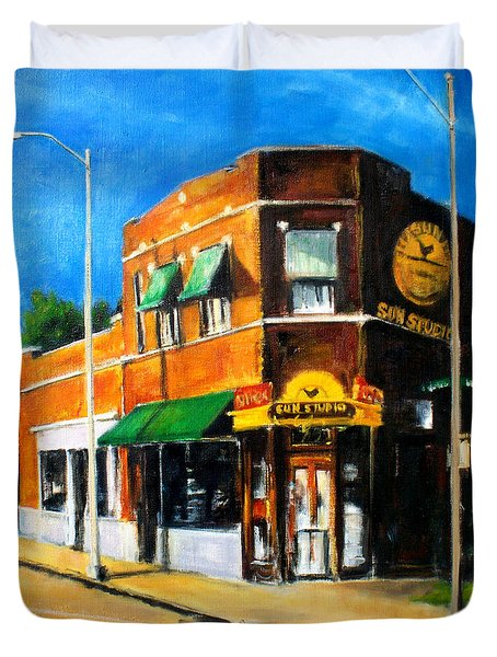 Sun Studio - Day Duvet Cover