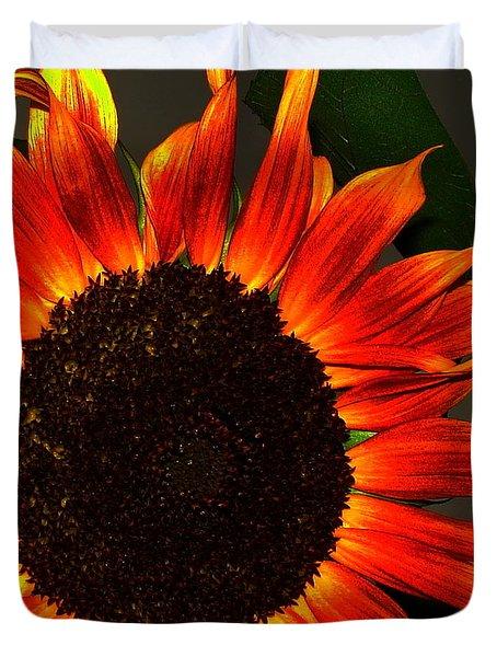 Sunfire Duvet Cover by Ramona Johnston