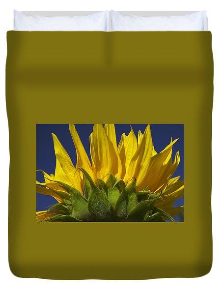 Sunflower Duvet Cover by Garry Gay