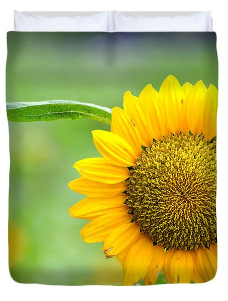 Sunflower Duvet Cover by Yew Kwang