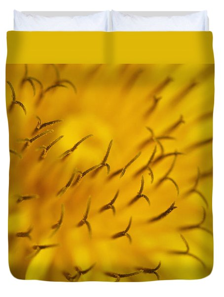 Duvet Cover featuring the photograph Sunny Day by Raffaella Lunelli