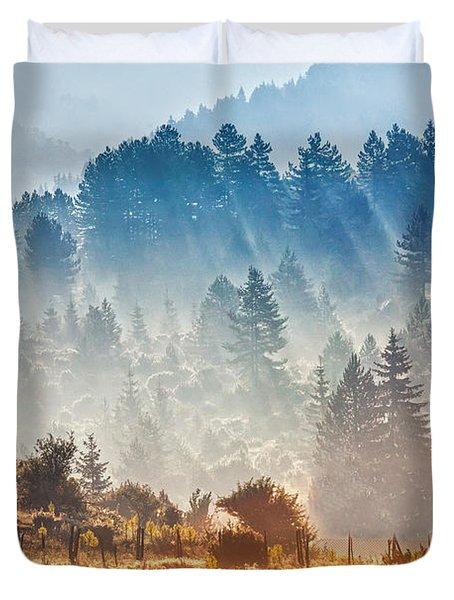 Sunny Morning Duvet Cover by Evgeni Dinev