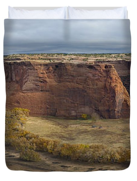 Sunrise At Canyon De Chelly Duvet Cover