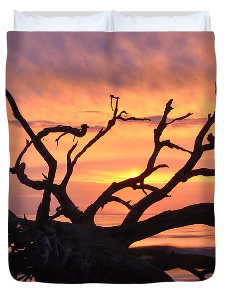 Sunrise At Driftwood Beach 6.1 Duvet Cover