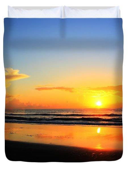 Sunrise Couple Duvet Cover by Dan Stone
