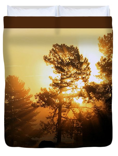 Sunrise Duvet Cover by Karen Harrison
