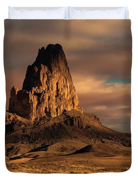 Sunrise On El Capitan Duvet Cover by Sandra Bronstein