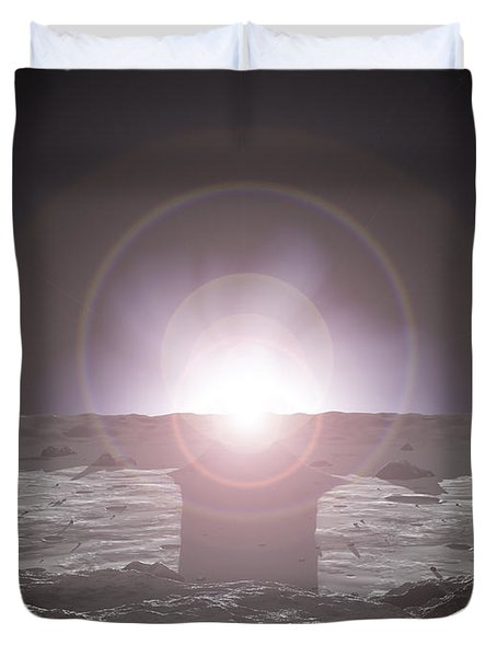 Sunrise On Mercury Duvet Cover