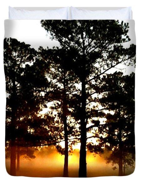 Sunrise3 Duvet Cover by Amber Stubbs