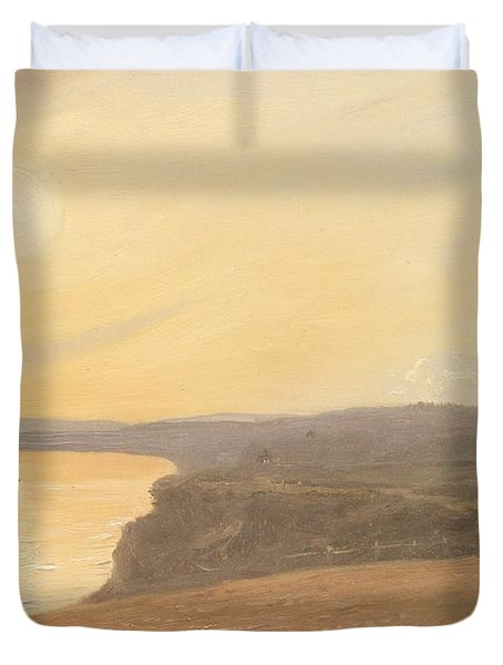 Sunset Duvet Cover by James Hallyar