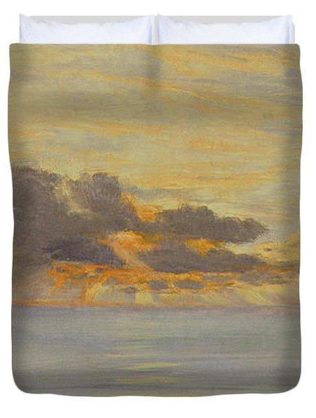 Sunset Duvet Cover by John Brett