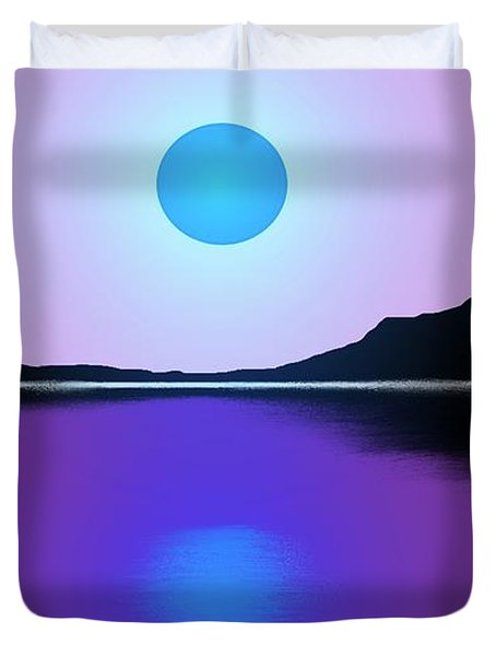 Sunset No. 4 Duvet Cover by George Pedro