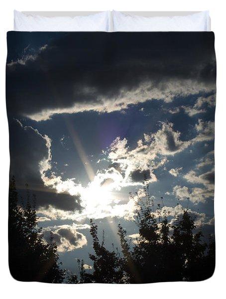 Sunshine Always Returns Duvet Cover