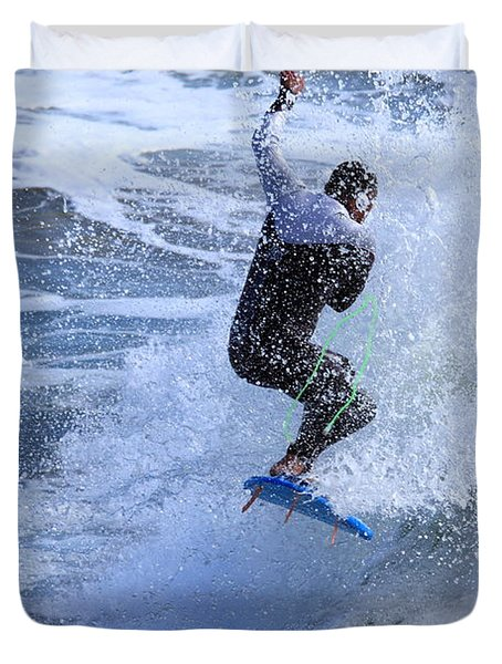 Surfer Duvet Cover