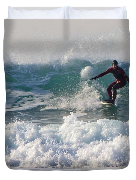 Surfers Paridise Duvet Cover by Brian Roscorla