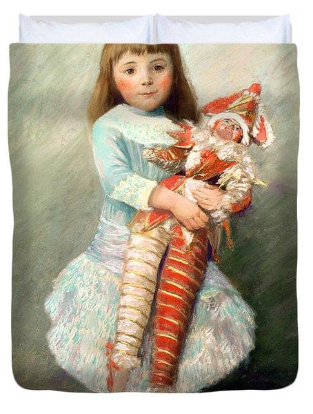 Suzanne Duvet Cover by Pierre Auguste Renoir
