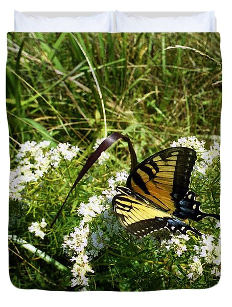 Swallow Tail  Duvet Cover by Skip Willits