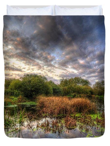 Swampy Duvet Cover