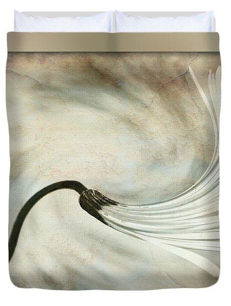 Sweeping Petals Duvet Cover by Kaye Menner