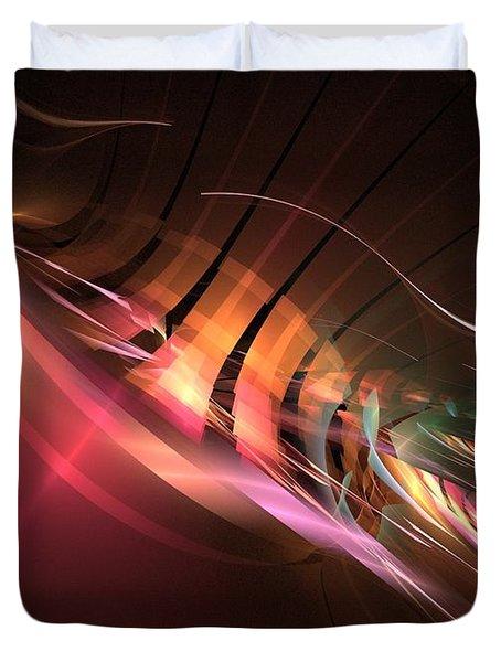 Swordfish Duvet Cover by Kim Sy Ok