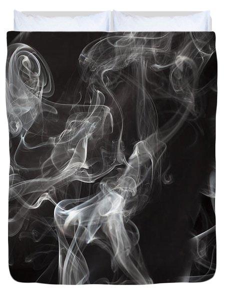 Swriling Smoke  Duvet Cover