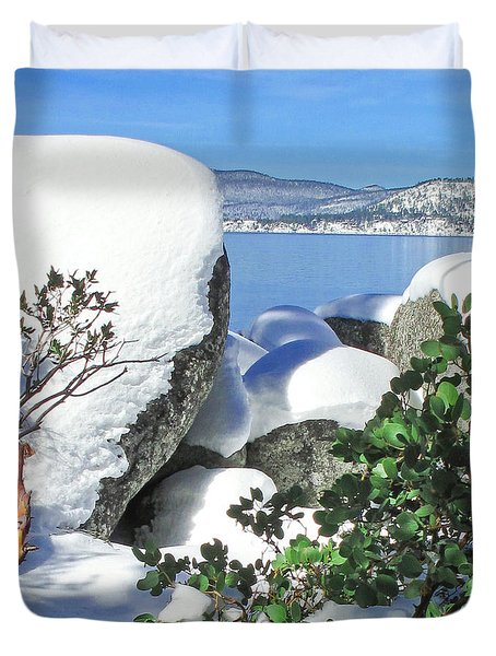 Tahoe Near And Far Duvet Cover