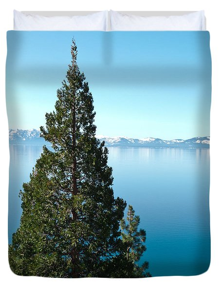 Tahoe Tranquility Duvet Cover