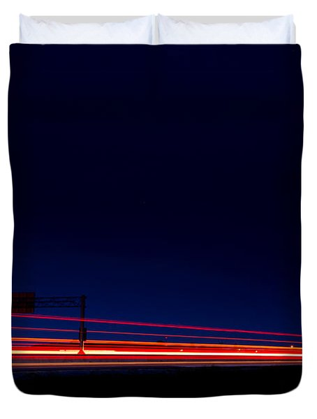 Taillights  Duvet Cover