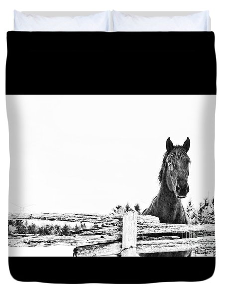 Duvet Cover featuring the photograph Take Me For A Ride by Traci Cottingham